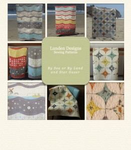 By Sea or By Land and Star Gazer Quilt Patterns