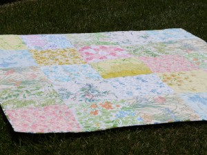 Bridgette's picnic quilt