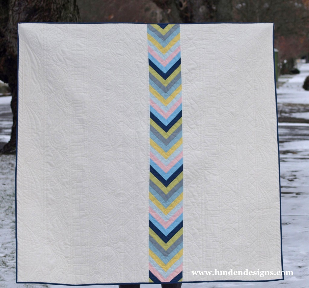 Straight As An Arrow quilt tutorial